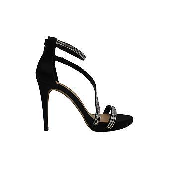 INC Internationella koncept Womens Senaraa Fabric Open Toe Special Occasion Ankle Strap Sandaler