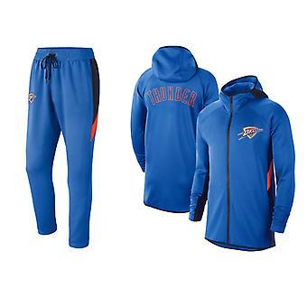Oklahoma City Thunder Basketball Sportswear Outfit Sets TZ002