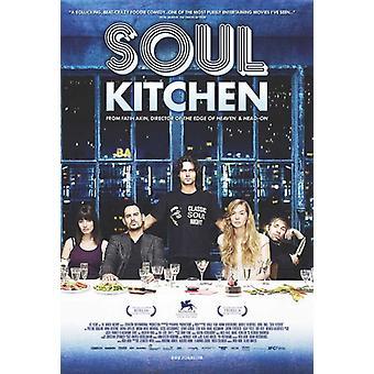 Sielu keittiö elokuvan juliste tulosta (27 x 40)