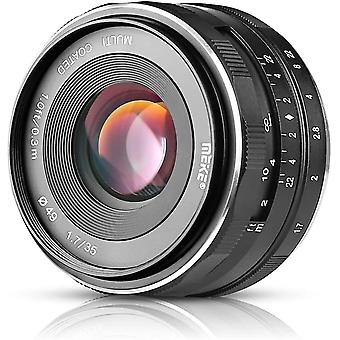 35mm f 1.7 Large Aperture Manual Focus Lens APS-C for Fujifilm X-Mount Camera
