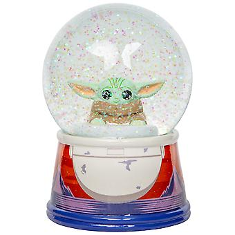 "Star Wars The Mandalorian The Child Egg Pod 6"" Snow Globe"