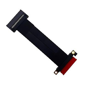 SFF-8639 180�� U.2 to PCI-E 3.0 4X Ribbon Extension Cable 20CM for U.2 NVME SSD