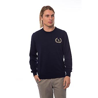 Blue Sweater Marine Billionaire Man