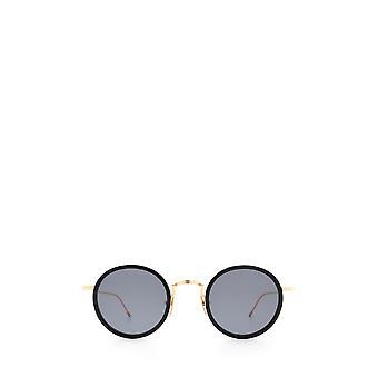 Thom Browne TBS906 black / gold unisex sunglasses