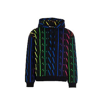 Valentino Vv3mf15p79520k Men's Multicolor Cotton Sweatshirt