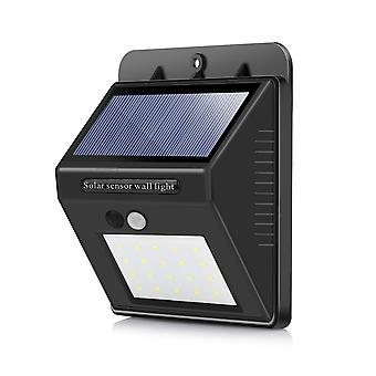 Vízálló 20 Led Solar Motion Sensor fali lámpa