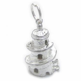 Helter Skelter Sterling Silber Charm .925 X 1 Kirmes Kirmes Charms - 4517