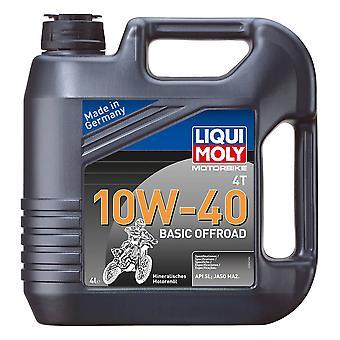 Liqui Moly 4 Stroke Mineral Basic Offroad 10W-40 4L - #3062