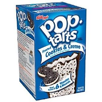 Kellogg's Pop Tarts Frosted Cookies & Cream Toaster Gebäck