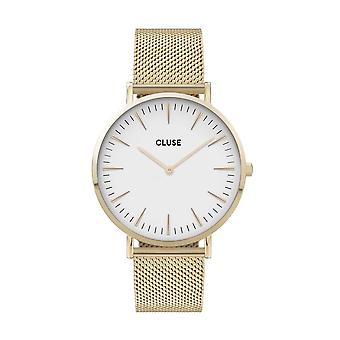 Cluse Unisex La Behème Gold Circle Quartz Fashion Watch CW0101201009