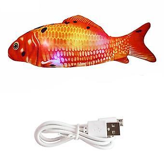 Electronic Pet Cat 30cm Electric Usb Charging Simulation Fish