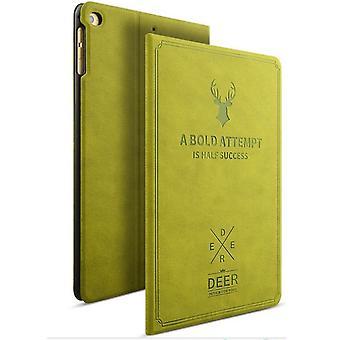 Design Tasche Backcase Smartcover Grün für Apple iPad Mini 4 7.9 Zoll Hülle Neu