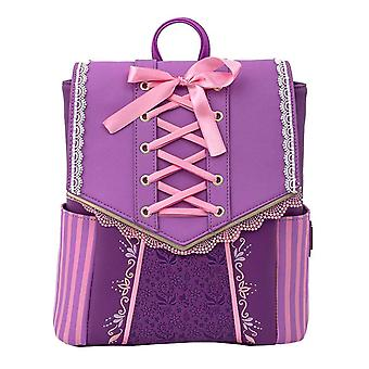 Loungefly Tangled Mini Backpack Rapunzel Cosplay nieuwe officiële Disney Purple