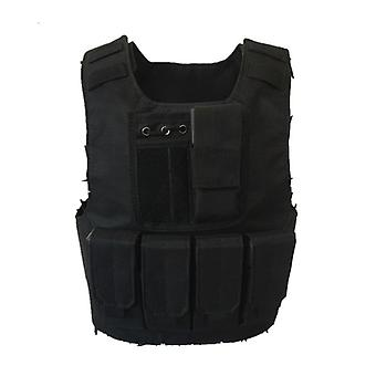 Kids Camouflage Tactical Bulletproof Vests Military Uniforms Combat Armor Army