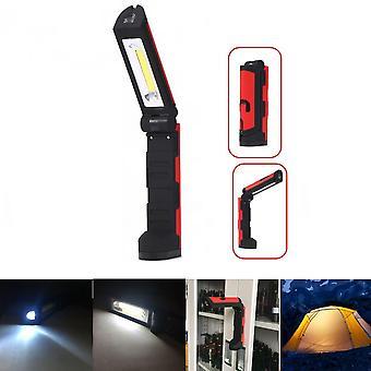 YH-910 COB Front & Side Lights 3Modes Multifunctional Portable COB Magnetic Folding LED Flashlight