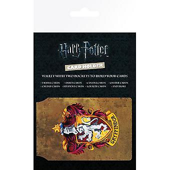 Harry Potter oficial Gryffindor Design Travel Card carteira