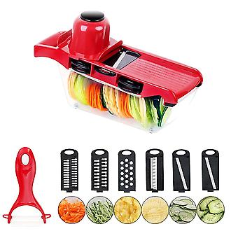 Food Processors Manual Slicer Fruit Cutter Potato Peeler Carrot Cheese Grater