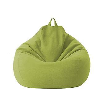 Bean Bag sohva tuoli ei täyte kangas tuoli lepotuoli istuin pavunpussi tyyny säilytys