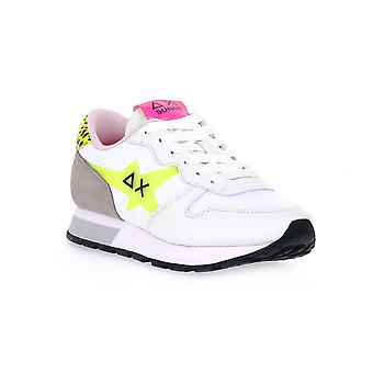 Sun68 0163 ally star transparent fashion sneakers