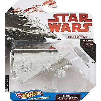 Hot wheels star wars first order star destroyer vehicle