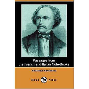 Passages From The French And Italian Note-Books