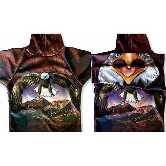 Bald Eagle Spirit Hoodie Sport Shirt By Mouthman