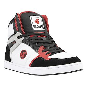 DVS Honcho Shoes - White / Black / Red