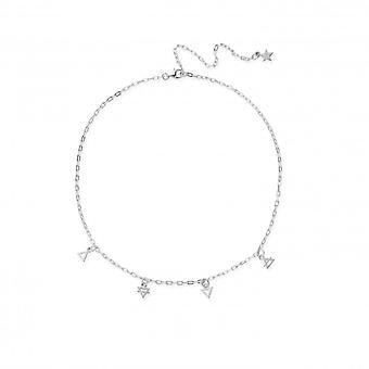 ChloBo SN3154 Women's Multi Charm Element Choker Necklace