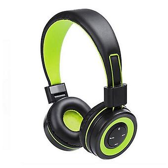 Bluetooth headphones with integrated panel