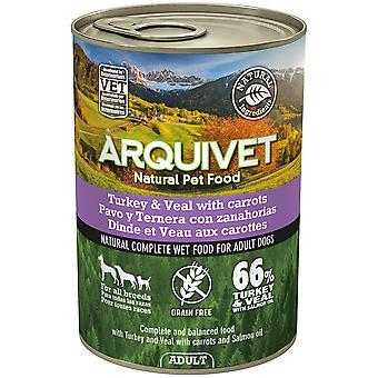 Arquivet Wet Dog Food Adult Turkey and Beef (Dogs , Dog Food , Wet Food)