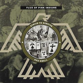 Flux of Pink Indians - Strive & Neu Smell [CD] USA import