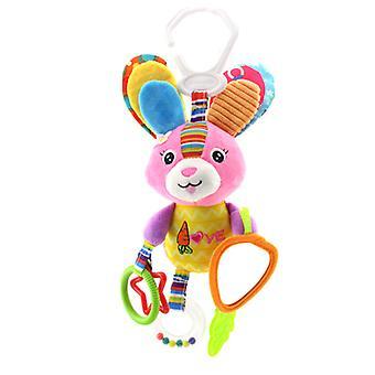 Happy Monkey World Cup bøjle dekoration, plys legetøj teether rasle