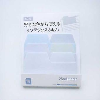 Kawaii vesiväri japanilainen liukuväri indeksit muistio pad