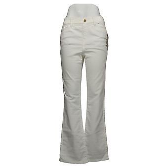 IMAN Global Chic Women's Jeans Illusion Denim White 734928100