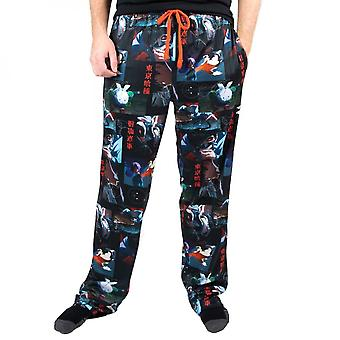 Tokyo Ghoul Characters and Text All Over Print Sleep Pants