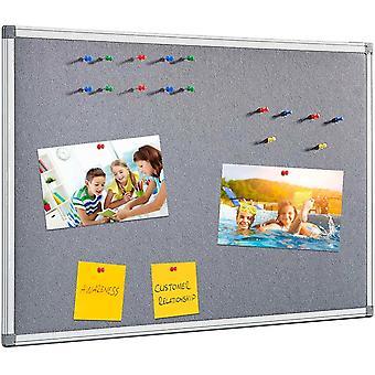 FengChun Hinweis Boards Filz Nachricht Pin Board für Büro, Schule, Schlafzimmer, Küche, Aluminiumrahmen,