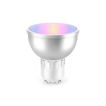 PNI SafeHome PT51RG LED smart light bulb, GU10, WiFi, RGBW, 5W, 500 lm, adjustable light / color via internet, Tuya Smart application, integration in scenarios and smart automation with other compatib