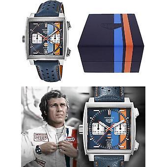 Tag heuer watch monaco caliber 11 - gulf special edition caw211r.fc6401