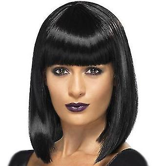 Falske hår kvinders naturlige realistiske parykker mode syntetisk paryk
