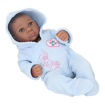 Real looking vinyl silicone made newborn baby boy doll pl-579