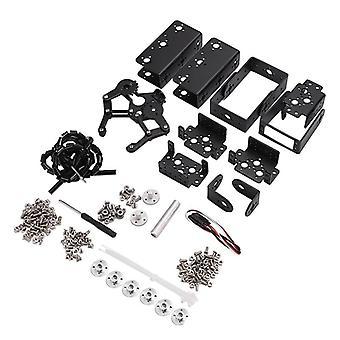 Dof Robot manipulator, Metalllegering Mekanisk ArmKlämma, Claw Kit, Arduino