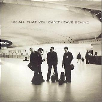 U2 All That You Leave Behind CD
