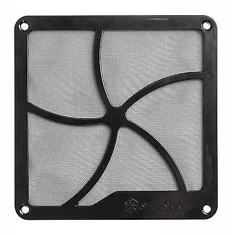 Silverstone 140mm Magnetic Fan Filter in Black