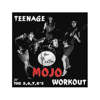 The 5,6,7,8's - Teenage Mojo Workout CD