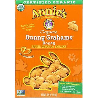 Annie's Homegrown Cookie Bunny Graham Honey, prípad 12 X 7.5 Oz