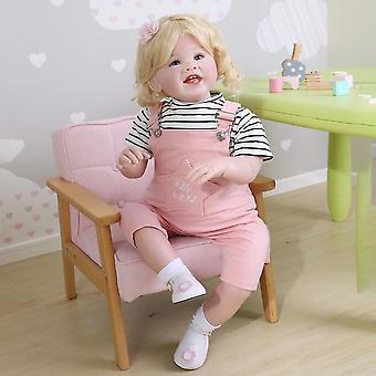 70Cm الأصلي لينة الجسم بيبي دمية تولد من جديد تودر فتاة طفل ضخم نابض بالحياة desgin الوردي المؤخرات هدية زينة عيد الميلاد