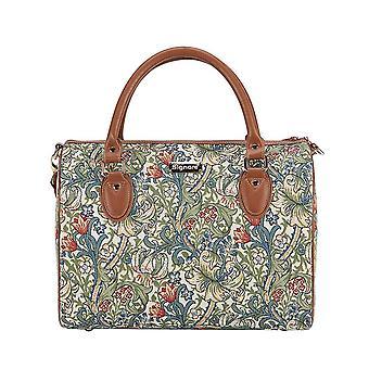 William Morris-kultainen Lily matka laukku on signare kuva kudos/Trav-glily
