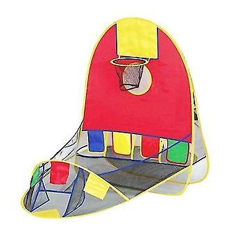 الكرة التهديف خيمة الأطفال لعبة خيمة بيت الدمى سلة كرة السلة خيمة