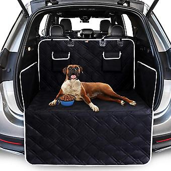 Dog Trunk Mat, 4 Quilted Dog Trunk Mat, Side And Bumper Protection