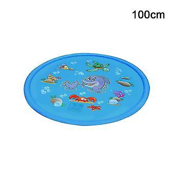 Lasten vesi splash leikkimatto puhallettava suihkuvesityyny (100)